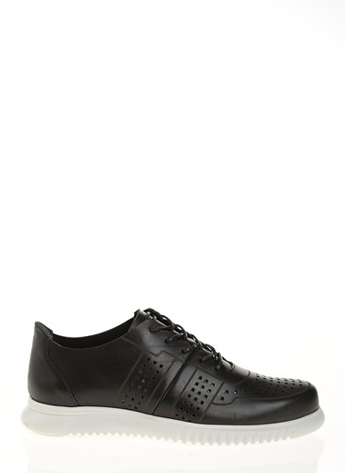D by Divarese Hakiki Deri Ayakkabı Siyah